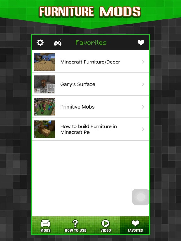 Screenshots of New Furniture Mods - Pocket Wiki & Game Tools for Minecraft PC Edition for iPad