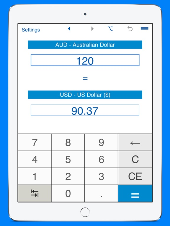 Screenshot 4 For Us Dollars To Australian Converter