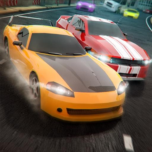 Авто Гоночная взлёт . На асфальт автомобиль гонки игра бесплатно 3D