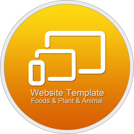 Website Template (Foods & Plant & Animal) With Html Files Pack3