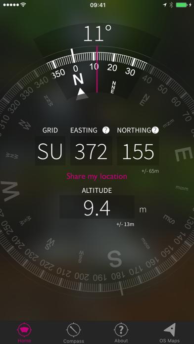 OS Locate screenshot one