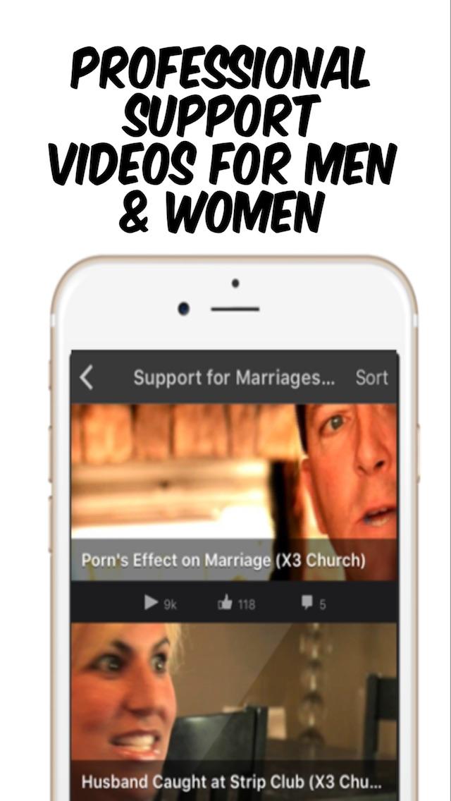 Porn & Sex Addiction Support Screenshot