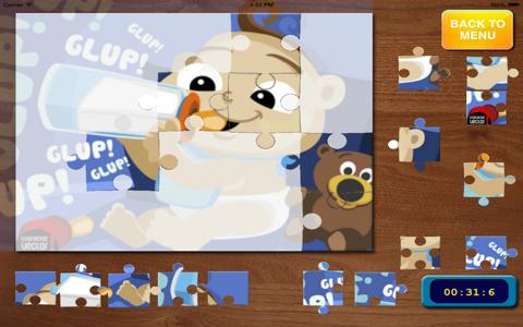 Jigsaw لعبة تركيب بازل بيبي للبنات مجانا screenshot 1
