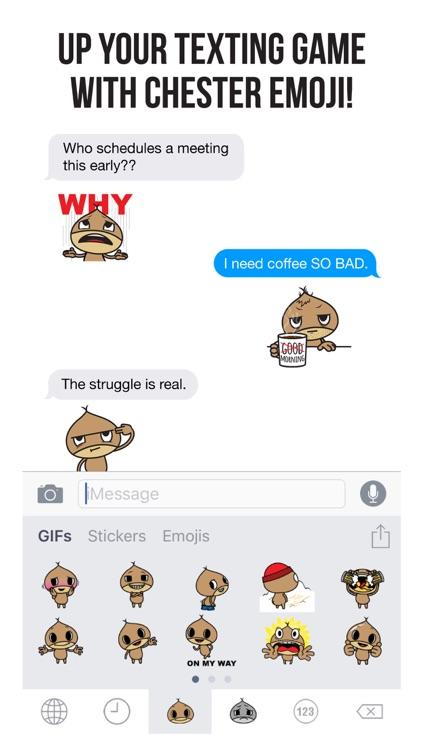 Chester Emoji screenshot-0