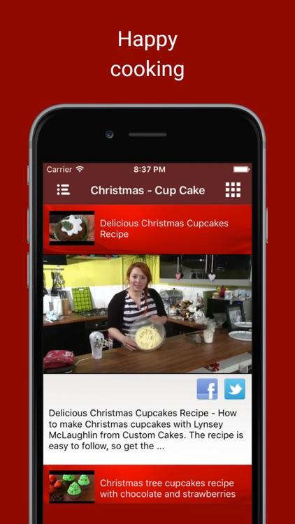 Delicious Christmas Cake Bakery Food Recipe Videos screenshot-4