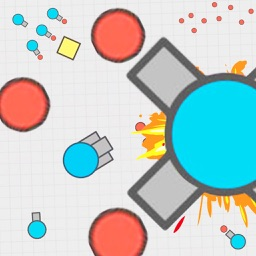 diep.io tank war - Battle of Tanks with move and shot other tanks