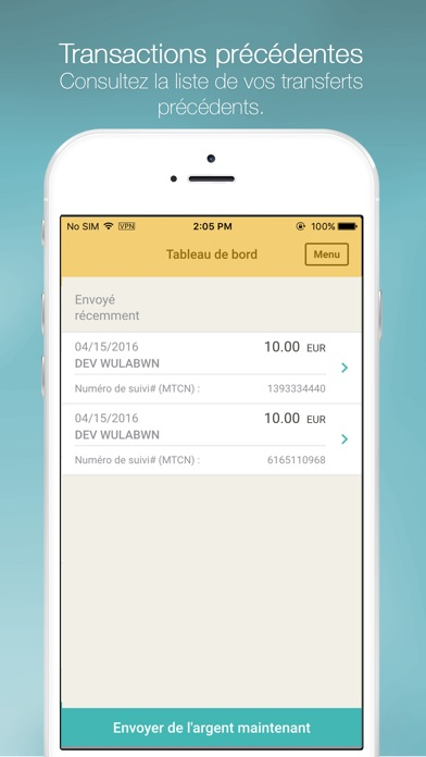 download Western Union Envoi d'argent apps 1
