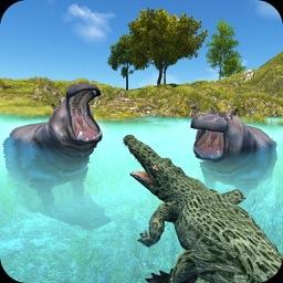 Wild Crocodile Attack Sim