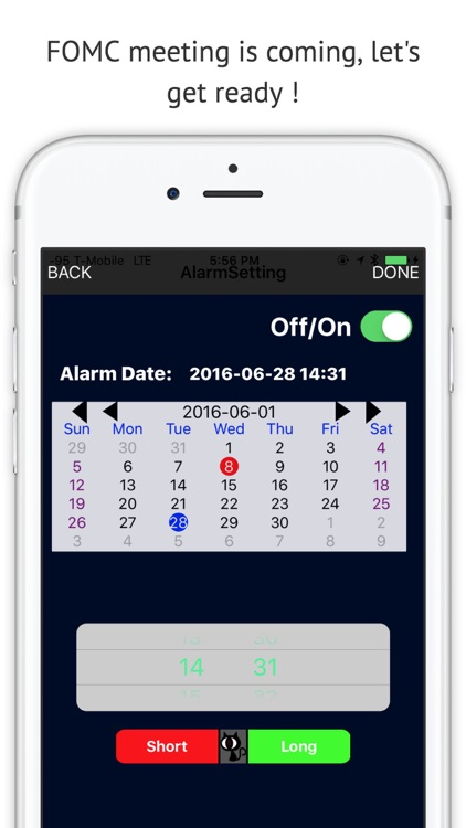 Stock Alarm (Short or long the Equities, Forex, Futures or Bonds by planning)
