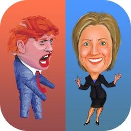 Electoral Run: Donald Trump vs Hillary Clinton at the Election