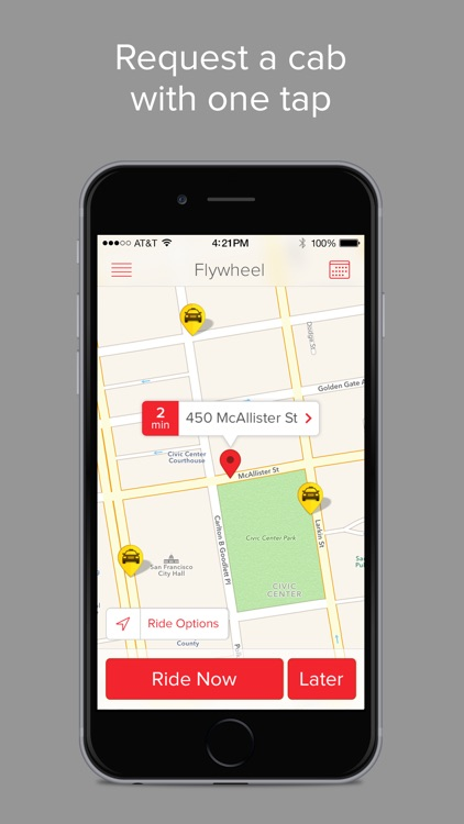 Flywheel - The Taxi App screenshot-0