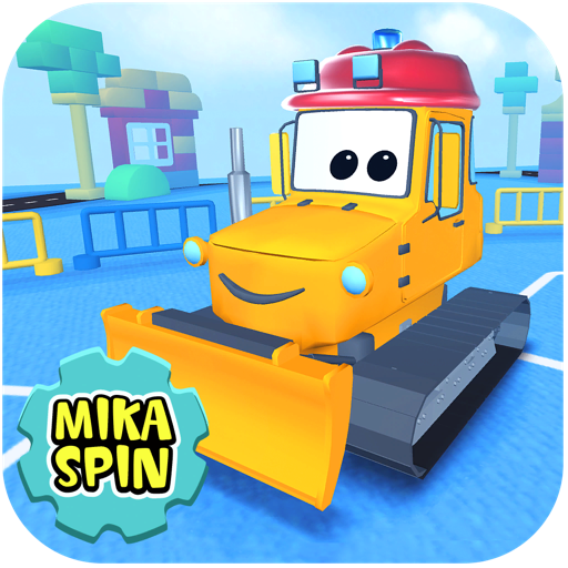 Mika 'Dozer' Spin — bulldozer game for kids