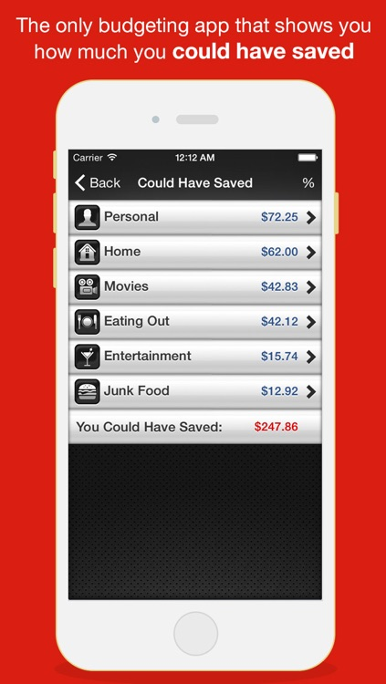 Budget Saved Pro - Personal Finance and Money Management Mobile Bank Account Savings App