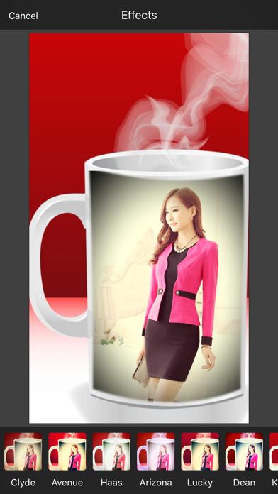 Coffee Cup Photo Frame & Photo Editor screenshot three