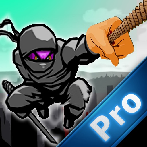 Rope Ninja Madness PRO - Chase Jump Swing