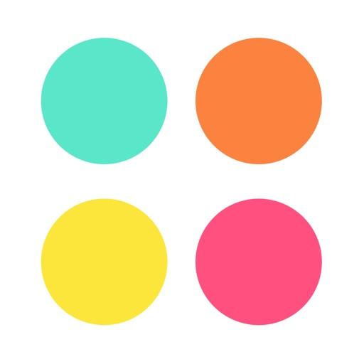 Lotsa Dots Dot Color Matching Game By Steven Zweier