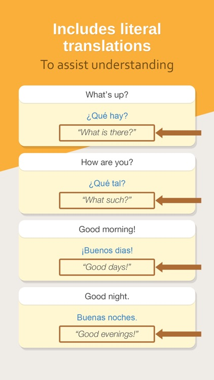 Hello Pal Phrasebook: Learn How To Speak Spanish screenshot-3