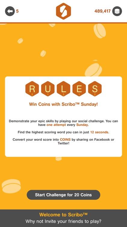 Scribo - Head to Head Word Challenge screenshot-4