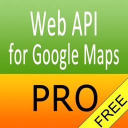 Web API for Google Maps Pro FREE