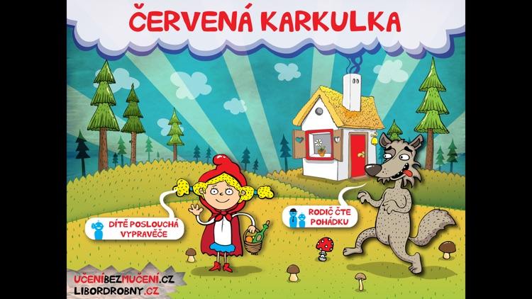 Pohádka - animovaná Červená Karkulka screenshot-0