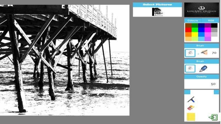 Adult Coloring Book - The Ocean Airbrush