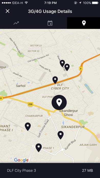 Advanced Data Usage Tracker - smartapp Screenshot