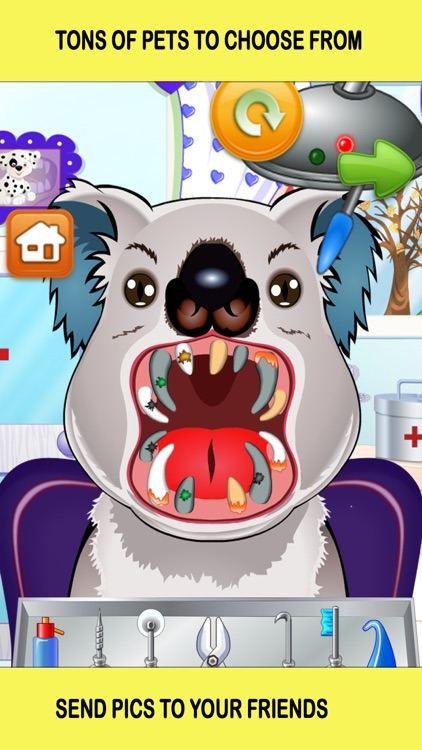 Pet Vet Dentist Doctor - Games for Kids Free screenshot-1