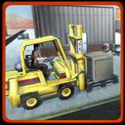 Extreme Forklift Simulator 3D - Forklifting Crane Operator Simulation