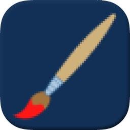 Pixl Art -  Draw in Pixels, Bits & Grids