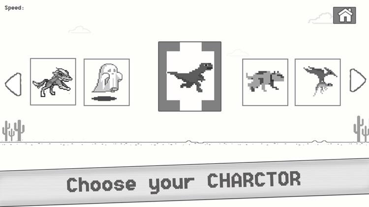 T- Rex Steve Endless Browser Game - Let the offline Dinosaur Run & jump screenshot-3