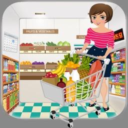 Supermarket Cashier Girl : Gracery Shopping Dash