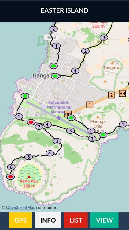 Easter Island Trail Map OFFLINE screenshot-3