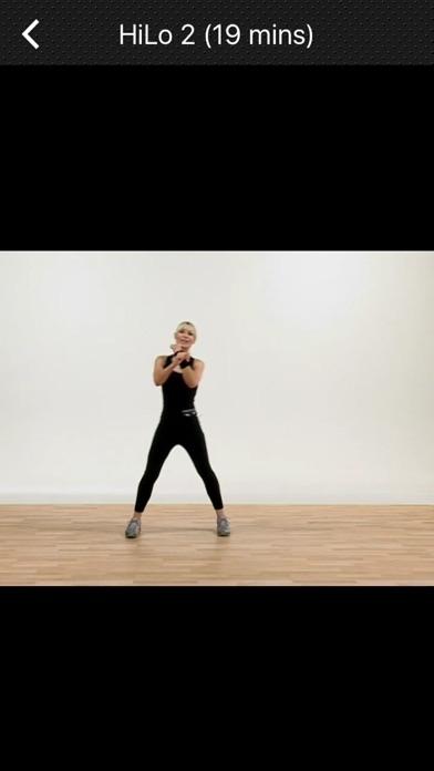 エアロビックダンスの練習のスクリーンショット4