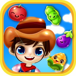 Garden Crush Pop Legend - Delicious Candy Match 3 Deluxe Games Free