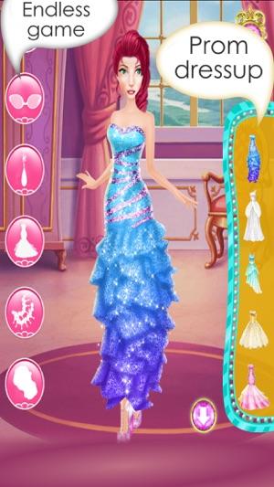 Princess Prom Salon - Fashion Girls Makeup , Dress up and Makeover ...