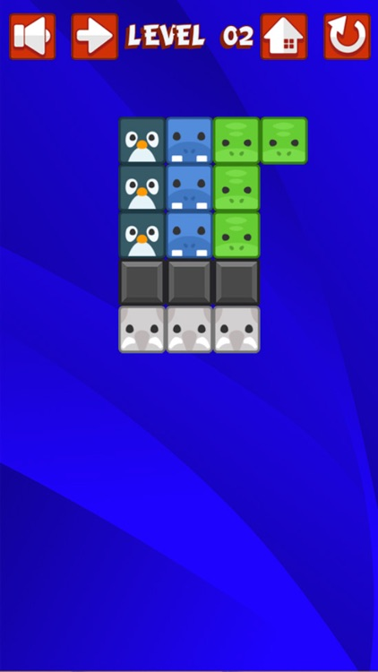 Animal Fill Out The Blocks Puzzle