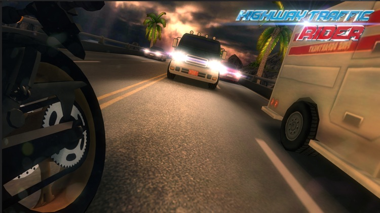 Highway Traffic Rider 3D screenshot-3