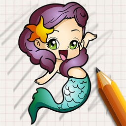 Let's Draw Famous Mermaids Version