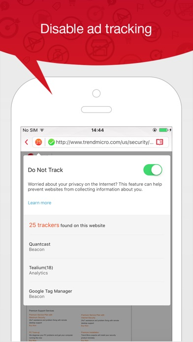 Trend Micro Mobile Security app image