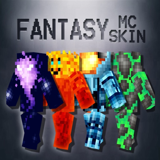 Best Fantasy Skins for MineCraft Pocket Edition iOS App