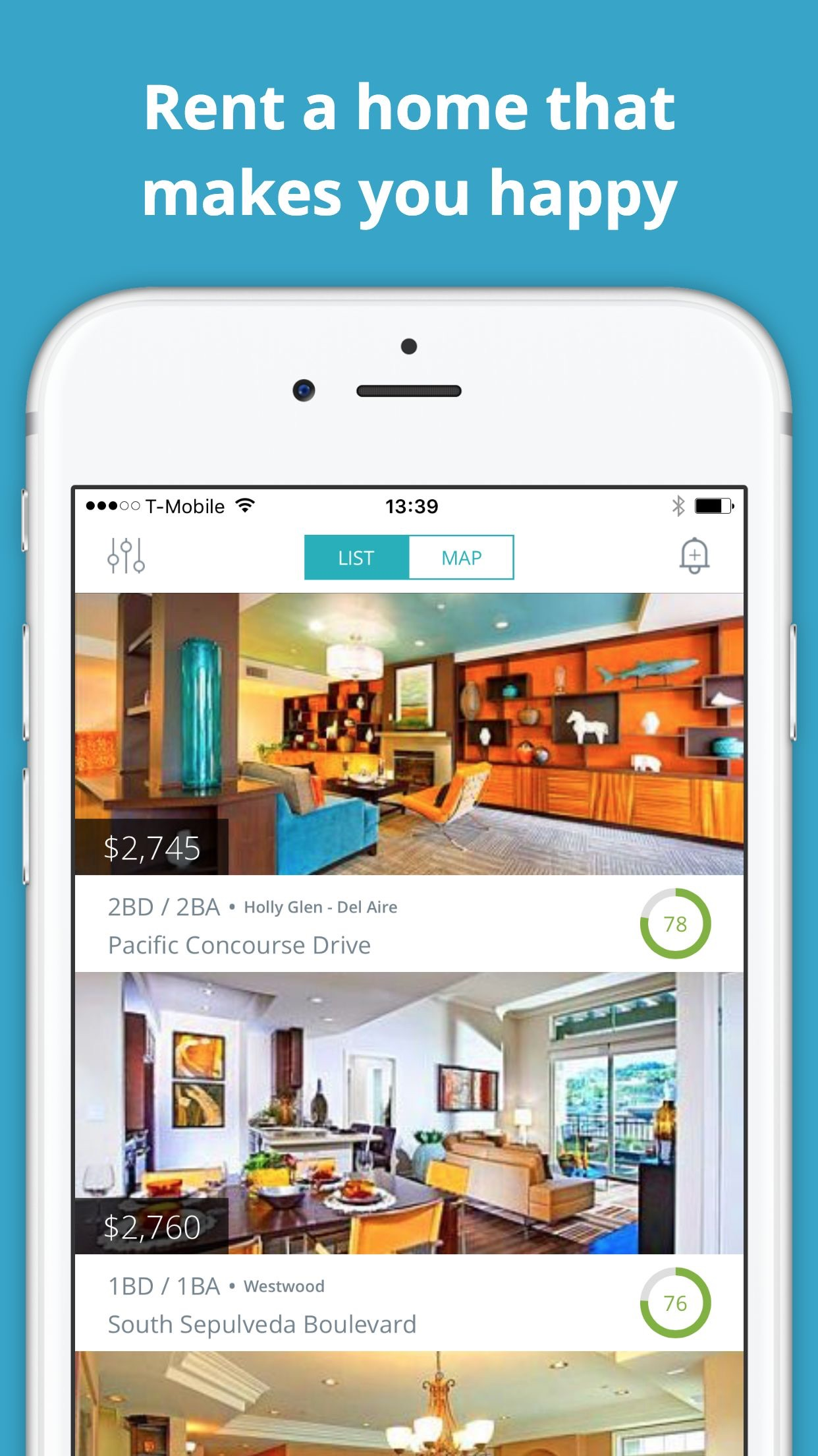 Apartments for Rent - House & Apartment Rentals Screenshot
