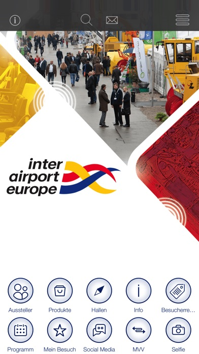 inter airport Europe 2015 AppScreenshot von 1