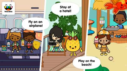 Toca Life: Vacation app image