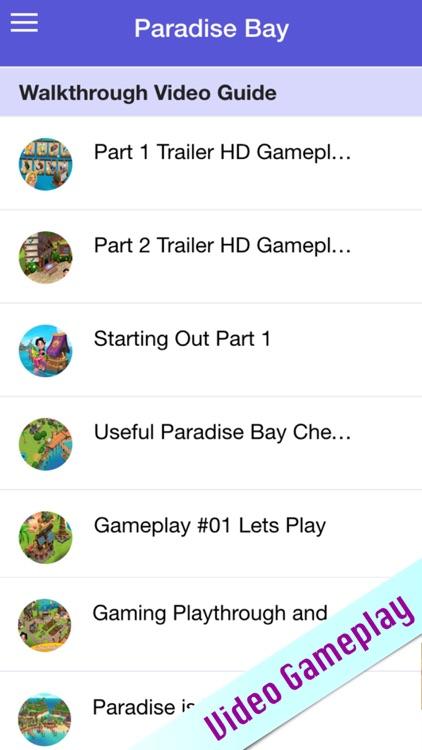 Guide for Paradise Bay screenshot-3