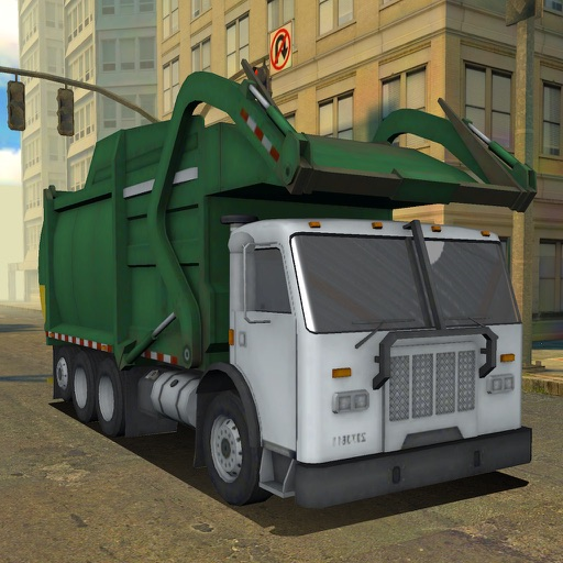 3D Garbage Truck Racing - eXtreme Truck Racer Game Free