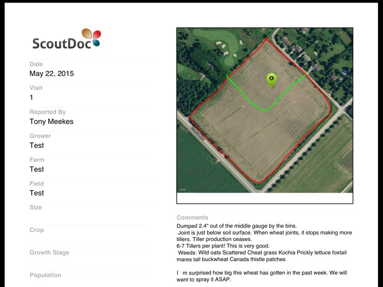 ScoutDoc - Farm Field Scouting screenshot-4