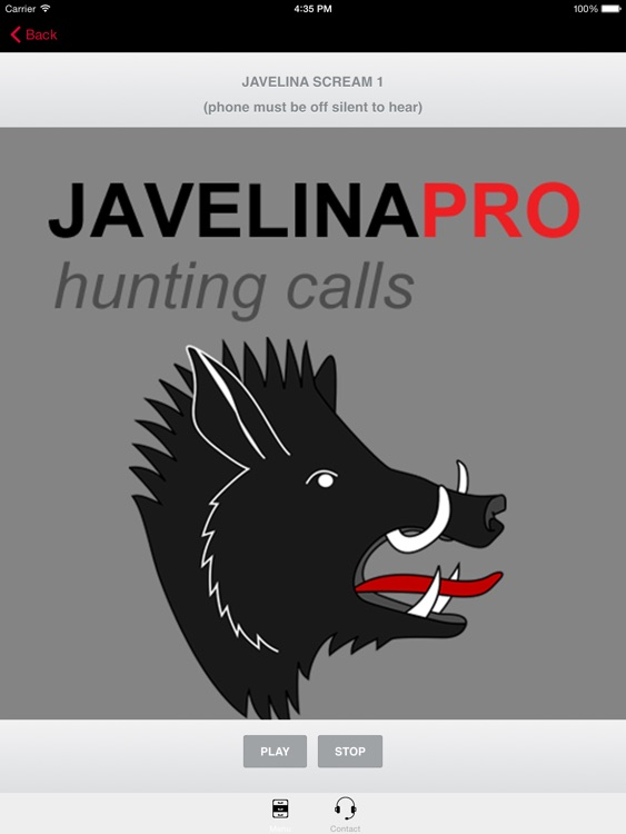 REAL Javelina Calls & Javelina Sounds to use as Hunting Calls (ad free-) - BLUETOOTH COMPATIBLE