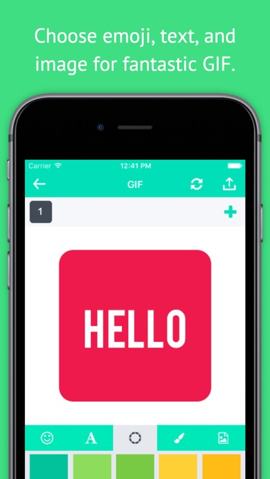 GIF Maker - Create GIF, Moving Pictures, GIF Animation and Share GIF to Your Friends screenshot two