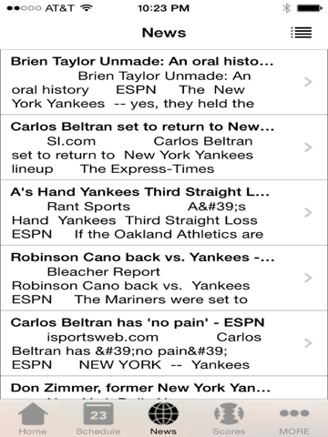 New York Baseball - a Yankees News App NYY   App Price Drops
