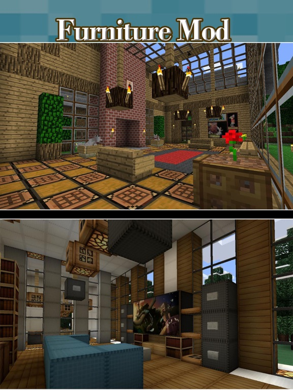 Best Furniture Mods - Pocket Wiki & Game Tools for Minecraft